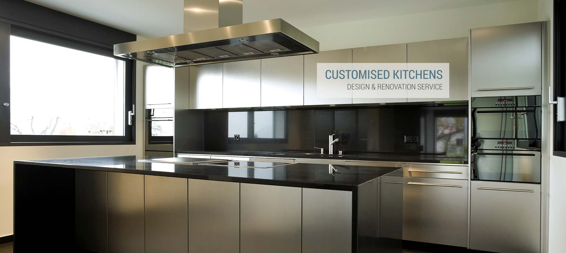 Sliderobes - Customised Kitchens