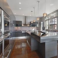Modern Steel Kitchen
